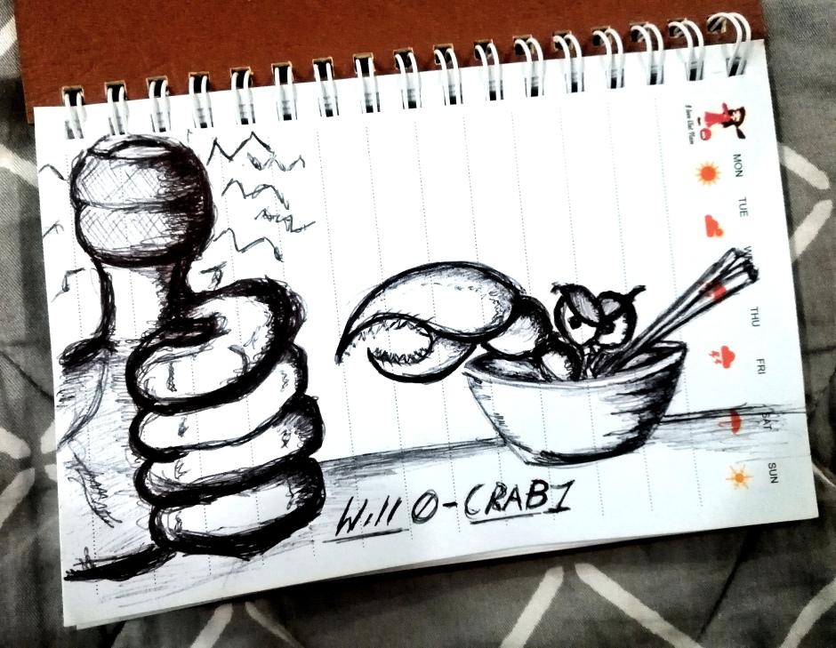 Will 0 - Crab 1.