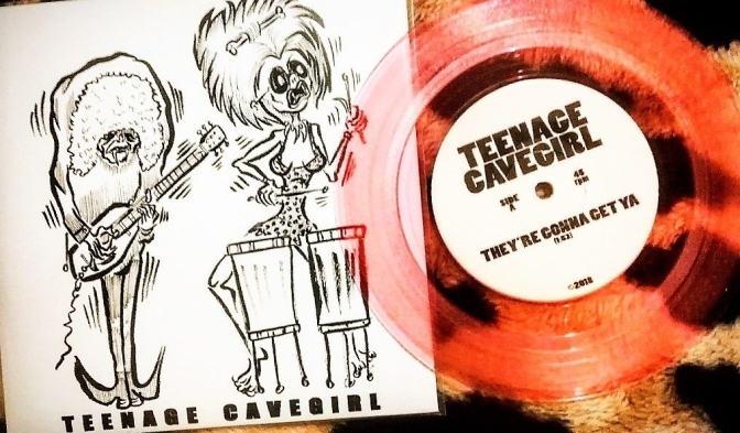 Music Review: Teenage Cavegirl – They're Gonna Get Ya.